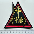 Def Leppard shaped patch d247
