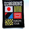Scorpions - Patch - SCORPIONS s42 very rare  80's patch 8.5x10 cm  new silver print