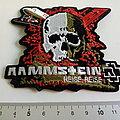 Rammstein shaped patch 78 rode  uitvoering nieuw