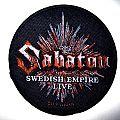 SABATON   patch s55 new  9.5 cm