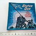 Status Quo - Patch - Status Quo embleem patch s326-- 10.5x10.5 cm