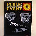 Public Enemy - Patch - public enemy backpatch 1989 BP154 new 29X26X36 back patch