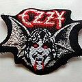 Vintage 80's Shaped Bat Patch