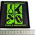 Type O Negative patch t219 express yourself