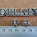 Delain - Pin / Badge - Delain  pin badge