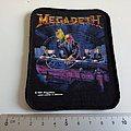 Megadeth - Patch - MEGADETH 1990 rust in peace vintage patch 15 new 10x8 cm round corners