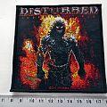 Disturbed - Patch - Disturbed  patch d143 new   10x10 cm