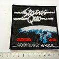 Status Quo - Patch - Status Quo embleem patch s332-- 10.5x10.5 cm