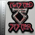 TWISTED SISTER big shaped patch t182 new 10x11 cm