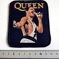 Queen vintage freddie mercury patch  q76 very very rare