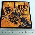 Lamb Of God patch l180  new american gospel  10 x 10.5 cm