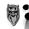 Ghost  metal shaped pin speld badge  n6
