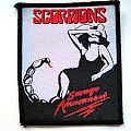 Scorpions - Patch - SCORPIONS s41 very rare  80's patch 8 x 9.5 cm