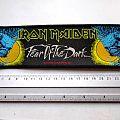 Iron Maiden - Patch - Iron Maiden vintage 1992 strip patch 140 new 6x20cm official merchandise