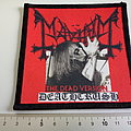 Mayhem patch m261 deathcrush the dead version new printed