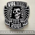 Volbeat very big shaped patch v79 12.5 x 14 cm  ltd edition
