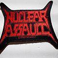 NUCLEAR ASSAULT vintage1991 patch n96 new 7.5x8.5 cm