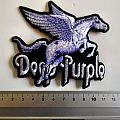 deep purple shaped patch d36