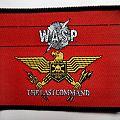 WASP vintage 1985 patch w83  7.5x10cm brandnew