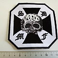 black label society embleem  b17  patch 10 x 10 cm