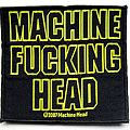 Machine head patch m77 new