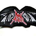 dark angel shaped  patch d87