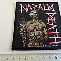Napalm Death vintage  patch n192