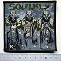 SOULFLY  patch 45 omen  new 9.5 x 10  cm 2010