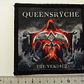 Queensryche  patch q92  -- 10 x 10.5 cm printed