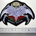 TIAMAT shaped 1993 patch  t82 new