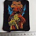 BLACK SABBATH very rare vintage 80's patch 13 new  8x10