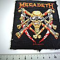 Megadeth vintage 1993 patch used456