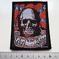 rebel to the bone patch official 80's nieuw rock biker usa var47