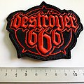 Destroyer 666 shaped  patch d315