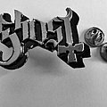 Ghost  metal shaped pin speld badge  n2