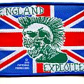 THE EXPLOITED vintage 1990 patch e7 very rare
