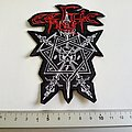 Celtic Frost shaped patch c232 new 10 x 13 cm
