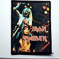 Iron Maiden vintage 80's patch 251 glossy photo print very rare