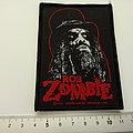 Rob Zombie - Patch - Rob Zombie patch z12  official 2012