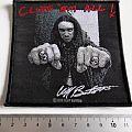 Metallica - Patch - Metallica Cliff Burton official patch 138