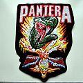 Pantera shaped patch new p23