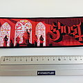Ghost strip patch notre dame g194 black border  18.5 x c cm