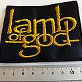 Lamb of god patch l79