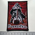 HammerFall - Patch - Hammerfall patch h18 new 1997  silver  print 7.5 x12.5 cm