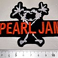 Pearl Jam - Patch - Pearl Jam shaped patch p123
