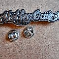 new pins badges part 8 motley crue, d.r.i., led zeppelin, aerosmith,danzig,five finger death punch