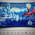 Iron Maiden seventh son patch 266 blue border ltd..7.5 x11.5 new