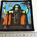 Mercyful Fate patch m243 all witches night  10 x 10.5 cm