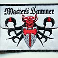 master's  hammer  patch m196  new 9x11.5  cm   bd