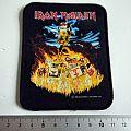 Iron Maiden  vintage 1990  patch  22   new 7.5x11 embleem